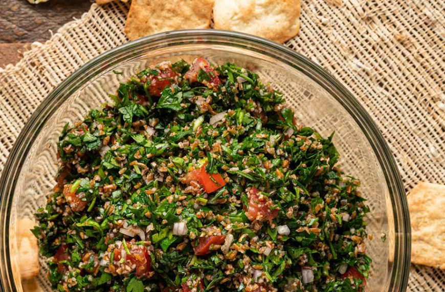 Taboule – Weizenschrot-Petersiliensalat
