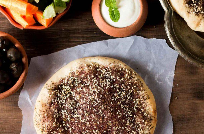 Manakish Teig – Libanesischer Pizzateig