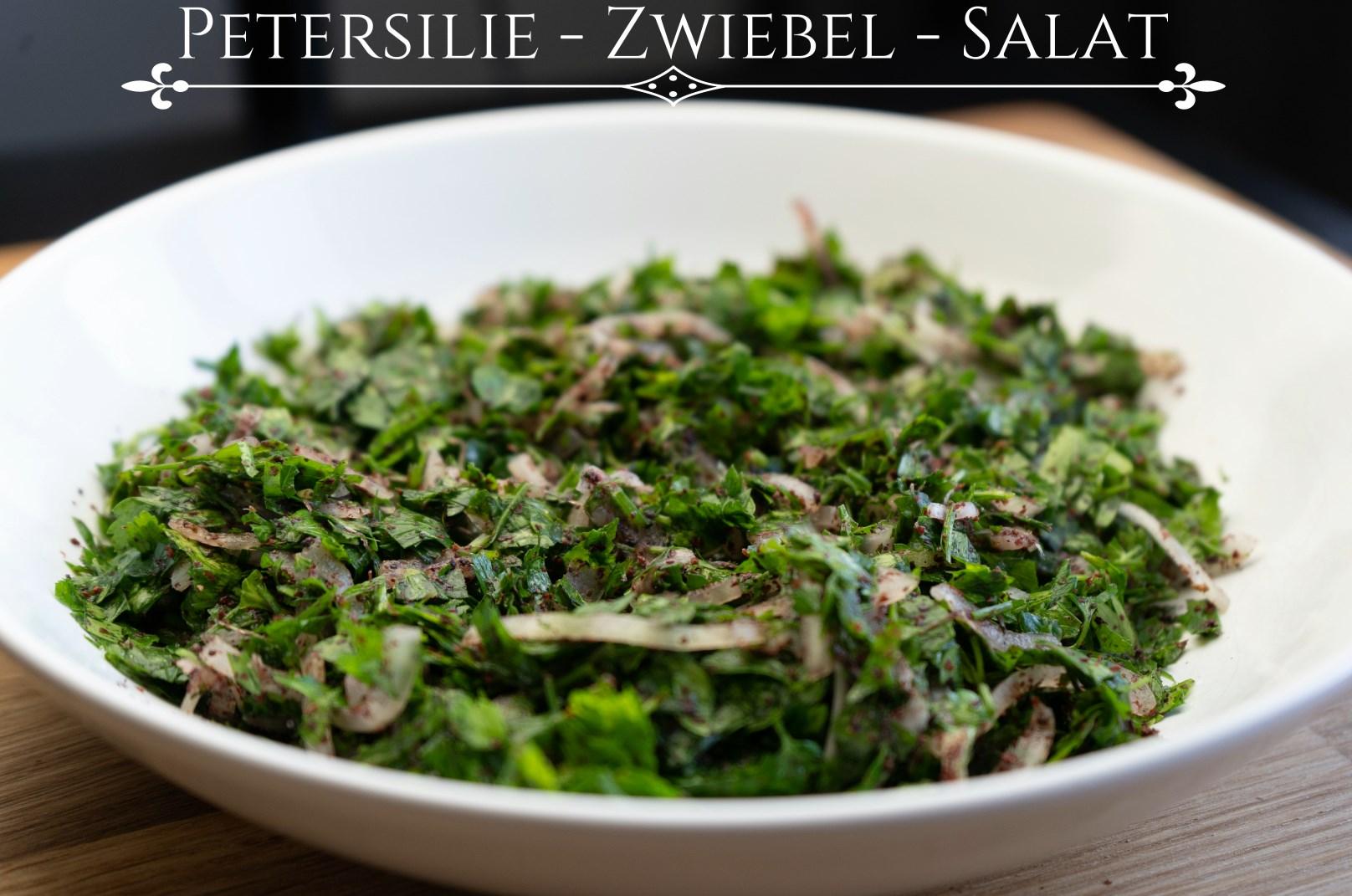 Petersilien-Zwiebel-Salat