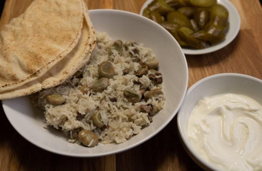 Riz Bfoul – Reis mit Bohnen – Rice with beans